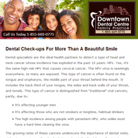 Downtown Dental Centre, Dentist London ON - 2017 July Newsletter