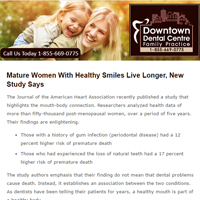 Downtown Dental Centre, Dentist London ON - 2017 May Newsletter