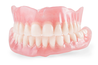 Full mouth restoration, before and after images