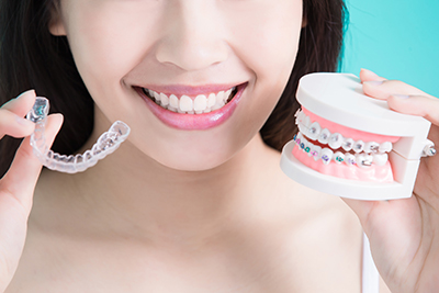 Invisalign, before and after images